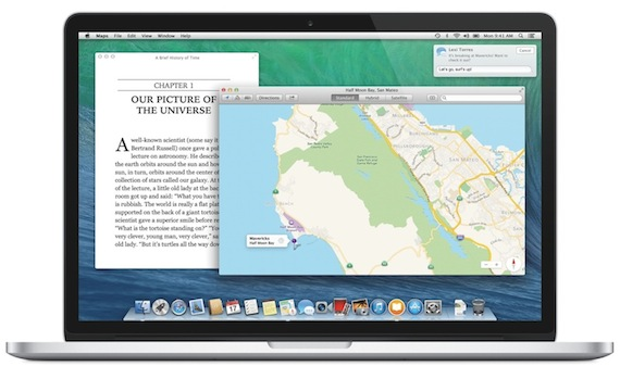 OS X Mavericks-mapas