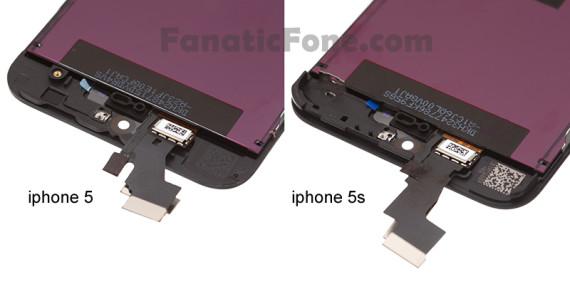 pantalla iphone 5 vs iphone 5s-1