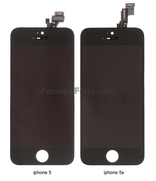 pantalla iphone 5 vs iphone 5s