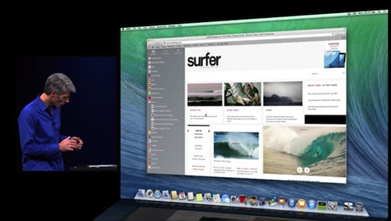 OS X Mavericks-safari