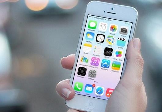 iPhone 5-ios 7 beta 3