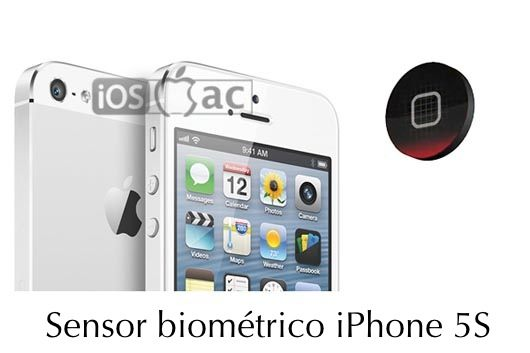 sensor biométrico iphone 5