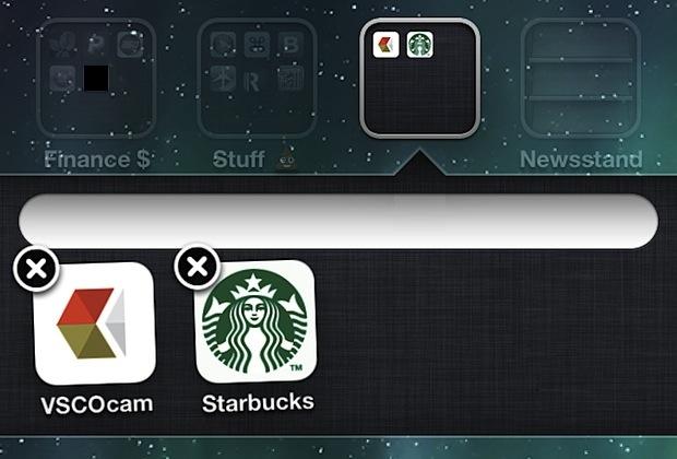 Cómo crear una carpeta en iOS con el nombre en ¡BLANCO!