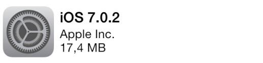 ios 7.0.2 para iPhone-ipad-ipod