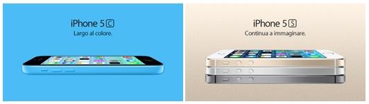 iphone 5c y 5s