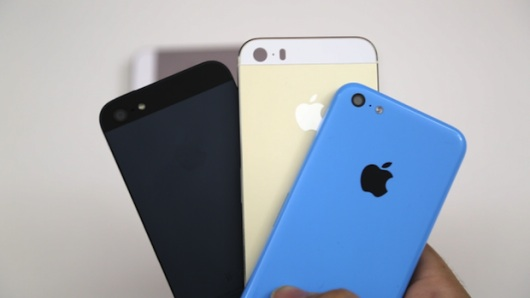 iPhone 5S vs iPhone 5C vs iPhone 5