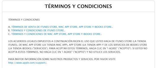 términos y condiciones de itunes ios 7-Nuevas funciones en la App Store de iOS 7