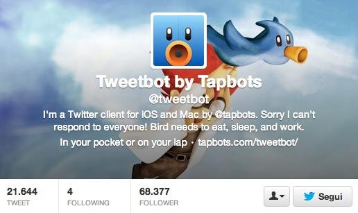 Tweetbot recibe actualización icono
