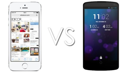 Nexus 5 vs iPhone 5S-530x301