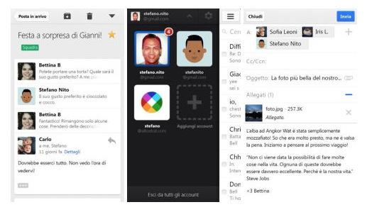 Gmail para iOS con gráficos al estilo de iOS 7 y nuevas funciones para iPad