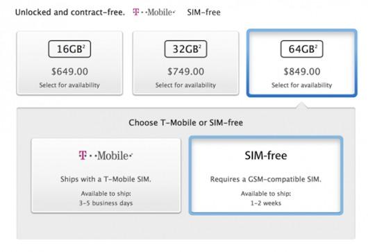 EE.UU.: Apple comienza la comercialización de los iPhone 5S libres
