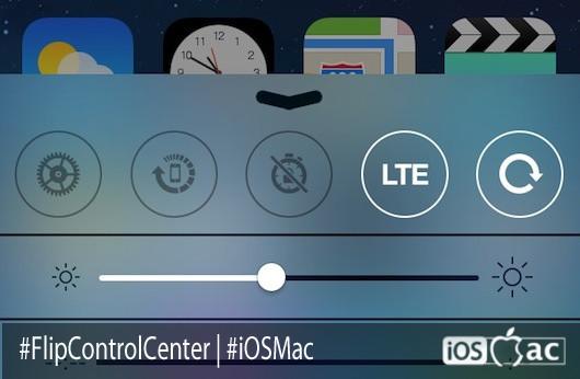 FlipControlCenter: Por fin podemos cambiar los toggles del Centro de Control  | Cydia
