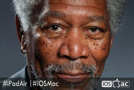un-dibujo-Morgan Freeman-ipad-air-iosmac