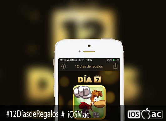 Rayman Jungle Run-12-días-de-regalos-apple-iosmac-