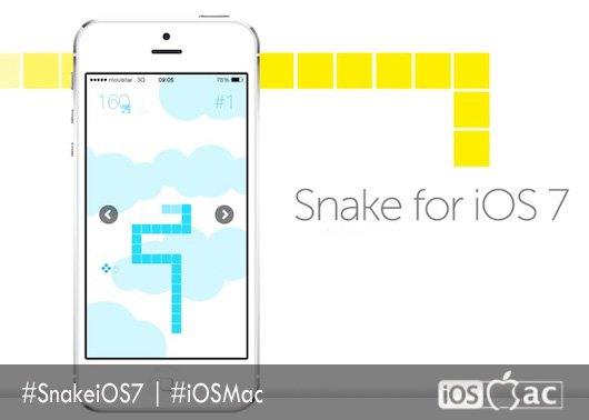 Snake-for-iOS 7-iosmac