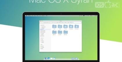 Mac OS X Syrah-concepto-iosmac