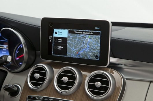 Mercedes-Benz muestra la integración de CarPlay-iosmac-3