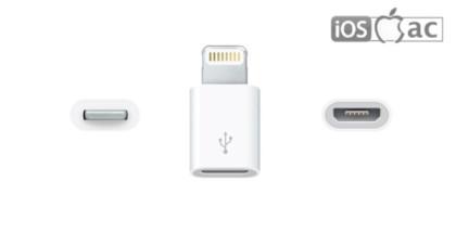 cable-estándar-Adaptador de conector Lightning a micro USB-iosmac