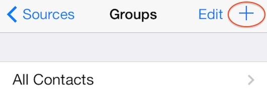 crear grupos de contactos en el iPhone-1-iosmac