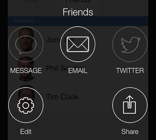 enviar correo electrónico a grupo desde el iPhone-iosmac