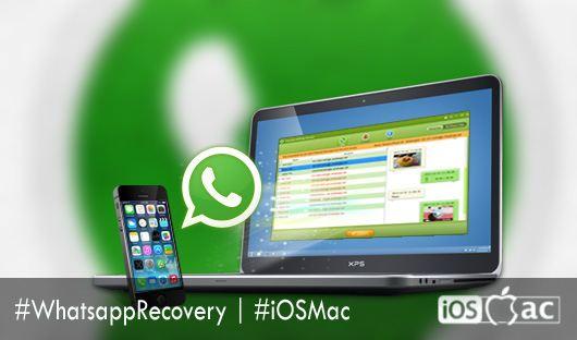 recuperar conversaciones de WhatsApp-iosmac