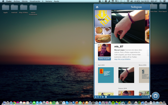 Head for instagram-iosmac