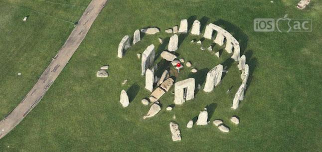 Stonehenge en 3D Flyover-iosmac