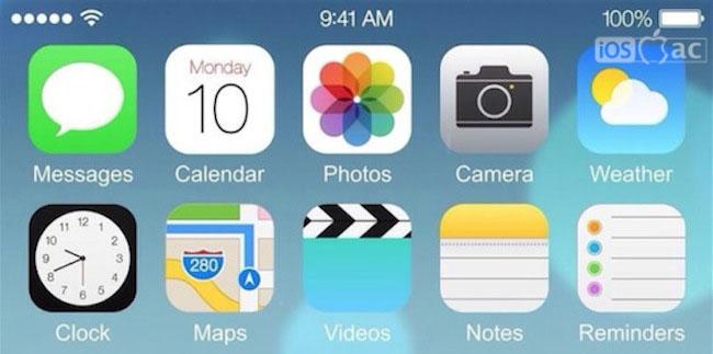 ¿La primera imagen de iOS 8 en el iPhone 6?