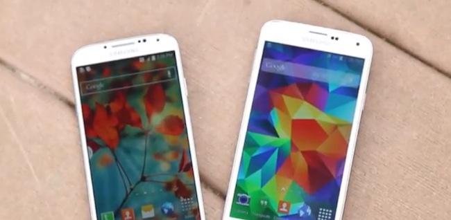 Prueba de Resistencia de un Samsung Galaxy S5 y un Galaxy S4