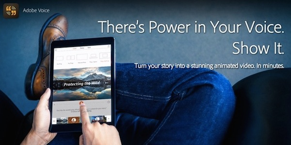Adobe Voice para iPad-iosmac