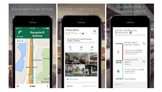 Google Maps 3.0-iosmac