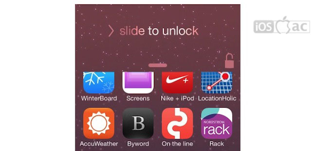 SlideUP2Unlock: Desbloquear su iPhone con un gesto slide-up | Cydia