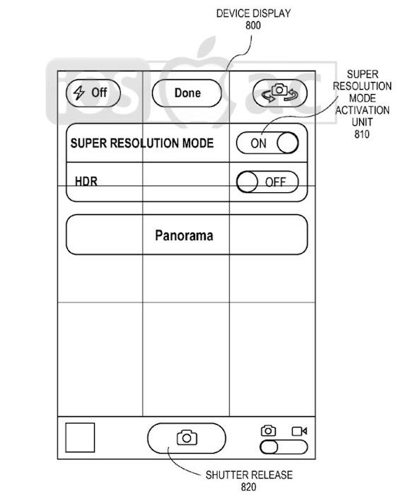 cámara-del-iphone-super-resolution-apple-patente