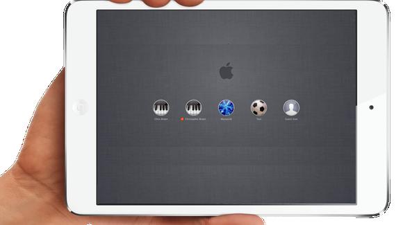 ¿Por que iOS necesita múltiples cuentas de usuario?