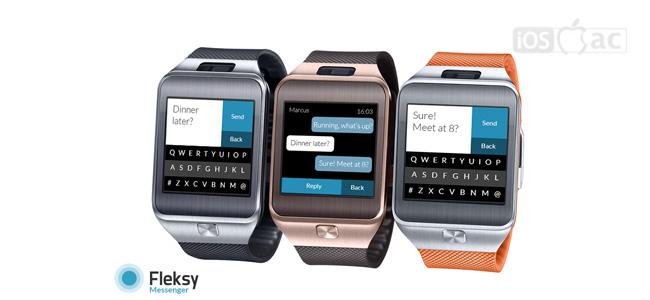 Fleksy Messenger-iosmac
