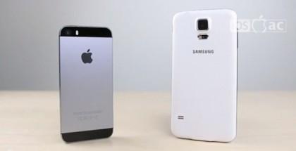25 razones por las iPhone 5S es mejor que el Galaxy S5-iosmac