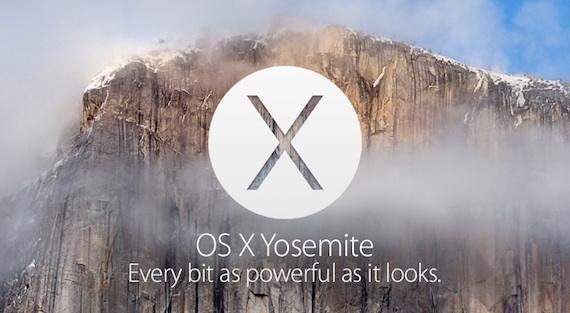 OS X Yosemite: el nuevo sistema de Mac y sus novedades.