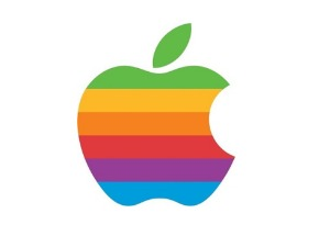 Logo Apple Arco iris