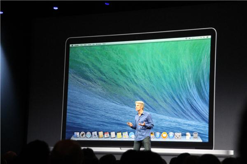 Keynote OS X 10.9 Maverics