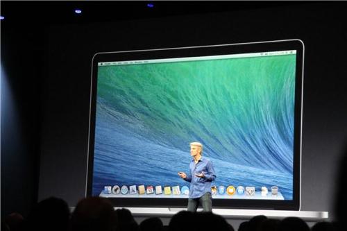 Keynote OS X 10.9 Maverics