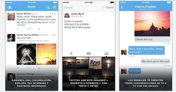 Twitter para iOS permite el acceso a todo el historial de DM
