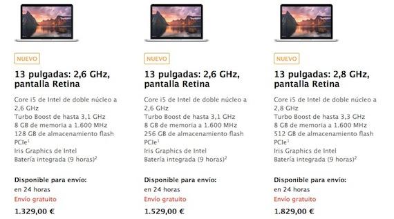 nuevo MacBook Pro con pantalla Retina de 13 pulgadas-iosmac.