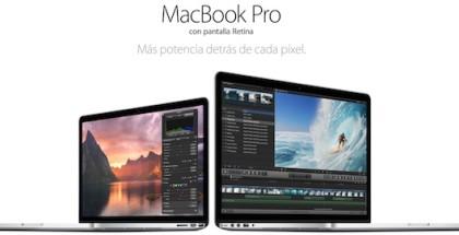 ventas de macbook pro pantalla retina