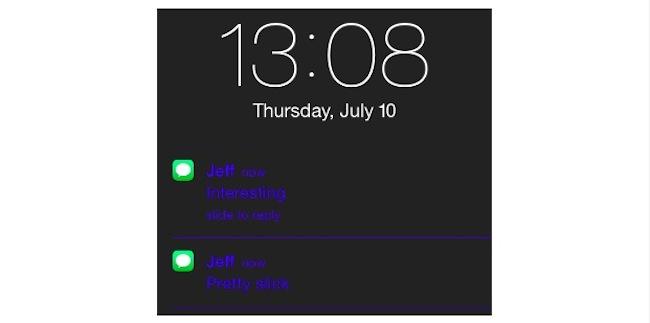 xNotiLockColor: Cambia los colores de las notificaciones de la pantalla de bloqueo [Cydia]