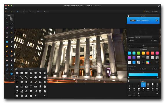 Pixelmator WorkPad
