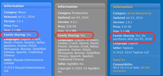 aplicaciones familia