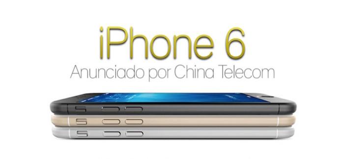 El iPhone 6 anunciado por China Telecom