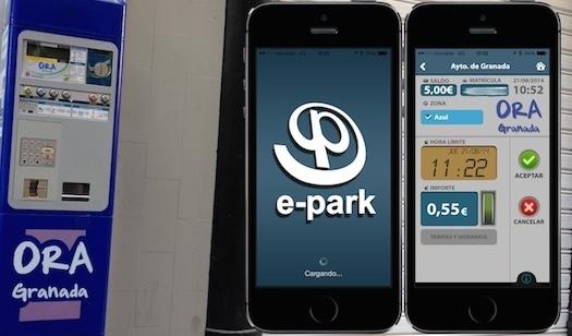 Aplicación para pagar la zona azul desde el iPhone