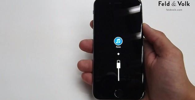 iPhone 6: Vídeo de la pantalla conectada a iTunes