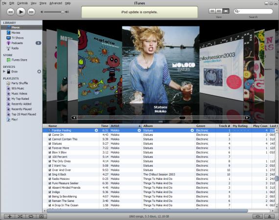iTunes, Así de fácil.